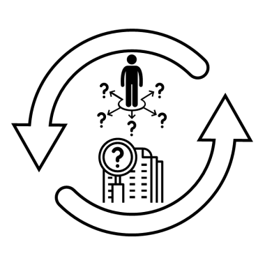 Diagram showing vicious cycle where opportunities and research supporting better second language acquisition are missing